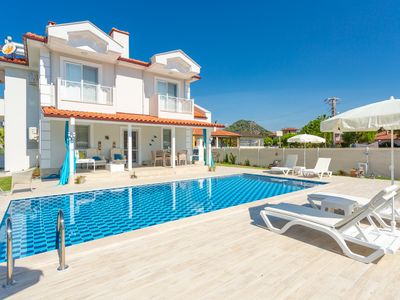 Photo for Villa Mina: Large Private Pool, A/C, WiFi, Car Not Required, Eco-Friendly