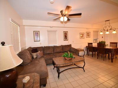 Photo for Walk to Everything, park your car and forget it! Pool, Hot Tub, Parking, Gazebo
