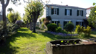 Photo for La Rochelle, 10 minutes walk from the center. House 450m2 seafront