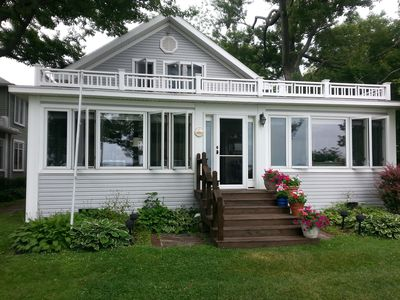 Photo for Large Summer Family Cottage on the Water's Edge - East Shore