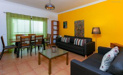 Photo for Spacious Sagres apartment in Lagos with WiFi & balcony.