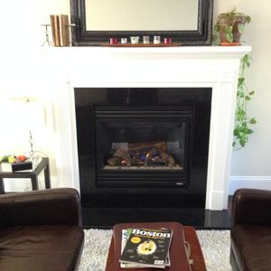 Fireplace Relax Area