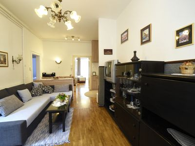 Photo for Apartment Palcec (suna, parking, terrace)