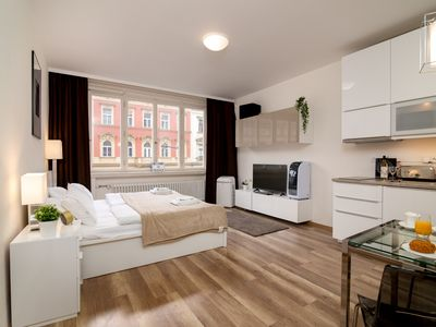 Photo for Stylish White Swan Na Porici CZPR46 - Apartment for 3 people in Praha
