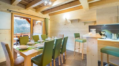 Photo for Large chalet with views of the mountains near the center and the ski lifts