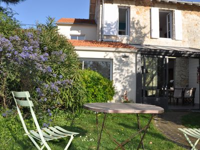 Photo for Nice house with garden in La Rochelle 5mn beach and town center