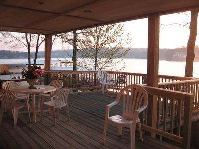 Lower Deck offers beautiful view of sunrise