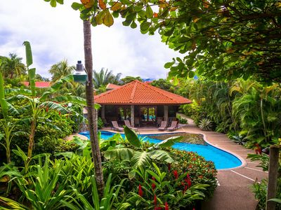 Photo for Jaco Beach Ocean Front Gem!! Location!! Pool!! Back Gate Walks Out Onto Beach!!