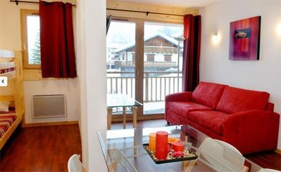 Photo for 1BR Apartment Vacation Rental in Valfréjus
