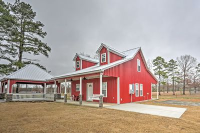 Immerse yourself in the natural beauty at this newly built vacation rental home.