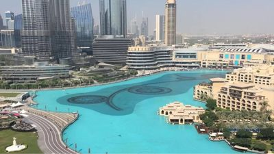 Photo for 2 bed with the stunning fountain and burj view