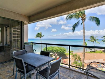 Photo for Breezy, waterfront condo w/ shared pool & hot tub - great location near beach