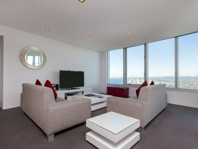 Photo for Spacious Stylish Four Bedroom Executive Apartment in the Heart of Surfers Paradise Q1 Resort & Spa
