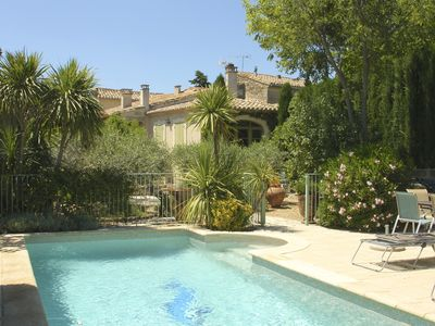 Photo for Between Nimes and Montpellier, charming house in Aubais