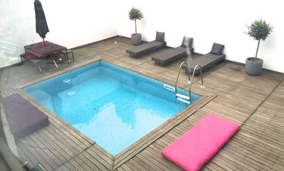Photo for Sunset Dip Apartment with Pool and Balcony - One Bedroom Apartment, Sleeps 3