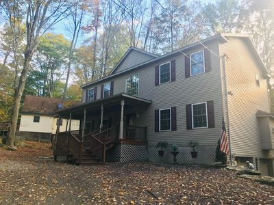 Photo for Spacious Vacation Home in the Hideout in Poconos!