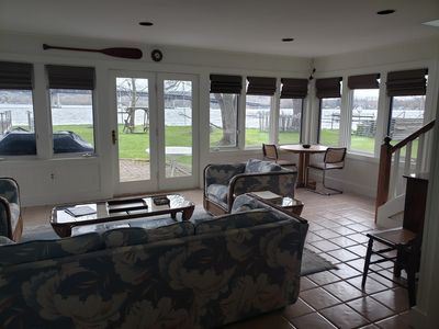 Photo for Bemus Point Lakefront cottage