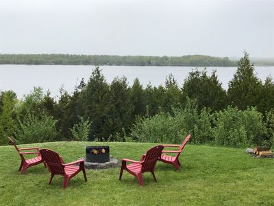 Photo for Private, 3.5 acres waterfront property with breathtaking views. (Sandbanks pass)