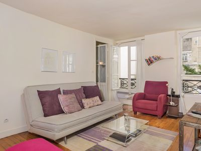 Photo for Romance in the Marais: Beautiful, Quiet, Bright, Great bed! Longer stay welcome