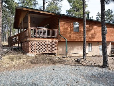 Photo for Nice Secluded Cabin Close to Town w/ Private Hot Tub