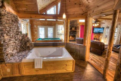 Cabins With Jacuzzi Enredada