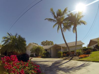 Photo for Big Waterfront Villa, Heated Private Pool & Jacuzzi, Boat +$499/w, dock at house