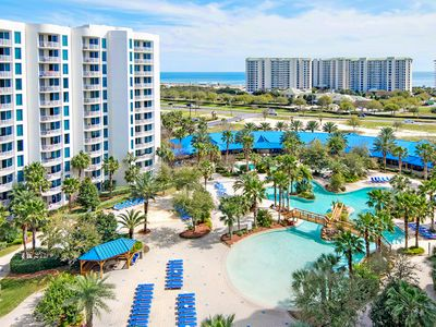 Photo for Palms Resort 21007 Jr 2BR-☀OPEN Apr 22 to 24 $581☀ Gulf&Pool Views! Lagoon Pool!