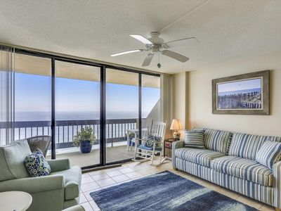 Photo for Sunrises & Sunsets - Oceanfront in North OC w/ Pool & Prem. Cable!