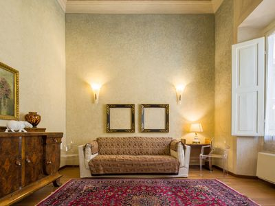 Photo for Luxury Penthause in Florence city centre with six beds, air con, free wifi