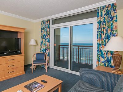 Photo for It's Always Better at the Beautiful Beach!! 2 BR Condo w/ King in Master!