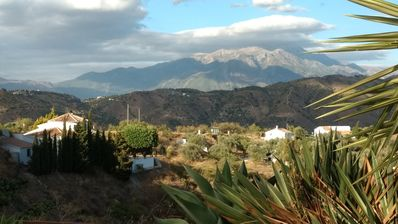 Photo for A beautiful room with ensuite bathroom and independent entrance available in our charming Andalusian house offering splendid views of the sea and the surrounding mountains.
