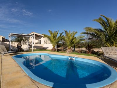 Photo for 70 Sqm 2 bedroom flat with Private Pool + Internet WiFi