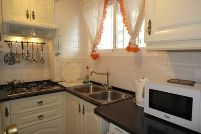 Piso Rosa - Kitchen fully fitted and equipped