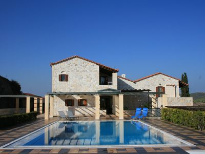 Photo for VIP Mediaeval Stone Villa with huge Swimming Pool