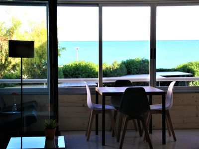 Photo for Appt 2/4 people (65 m2) facing the sea, swimming pool, close to Altea center, wifi