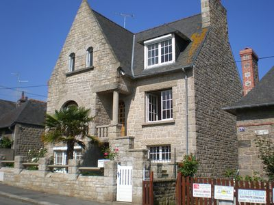 The House, situated in the centre of Dinard with off road parking