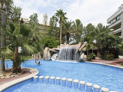 Photo for Apartment with spectacular pool- Turismar