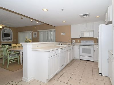 Photo for FREE DAILY ACTIVITIES!!! LINENS INCLUDED*! VIEWS OF OCEAN & BAY FROM WRAPAROUND BALCONY!!! Updated, Beautifully Furnished Bayfront Condo Sleeps 9