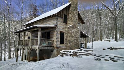 Photo for Eli Reeves Cabin at Hobbyknob Farm - Authentically restored 1820 Log Cabin