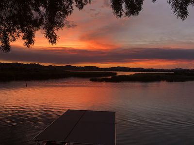 Photo for Fishers Landing   Lake Martinez Waterfront Quality Home w Private Covered Dock