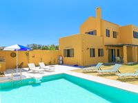 Wonderful views. Terrific villa. The village of Panormos was a great hideaway from Tourist hoards...