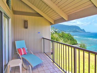 Photo for Pali Ke Kua #204: Ocean and Sunset views from your own private lanai...