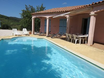 Photo for Luxury  villa with stunning views and large private pool