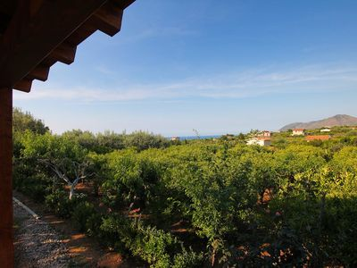Photo for Villa Sole - Beautiful Villa with Garden, Terrace, A/C, near the SEA and Cefalù