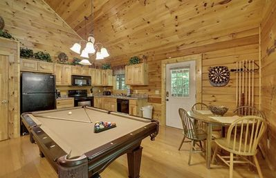 Photo for Creekside Paradise Found! One-Bedroom Mountain Cabin in Pigeon Forge
