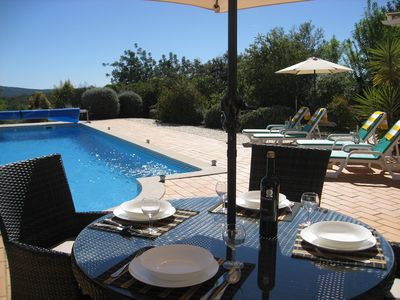 Photo for Cottage With large Pool In Beautiful Countryside, fabulous gardens.  Nr Loule.