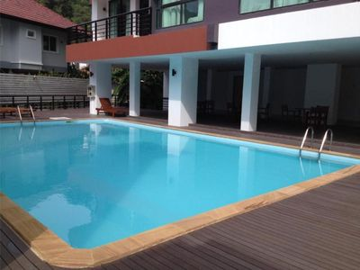 Photo for Two-Bedroom Apartment with Private Pool