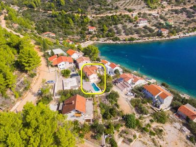 Photo for Holiday house Niso  - Cove Mikulina luka (Vela Luka), Island Korcula, Croatia