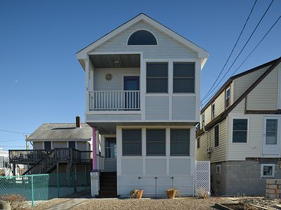 Photo for COUPLE BLOCKS TO BEACH**ROOF DECK**ENTIRE HOUSE**TWO CAR PARKING