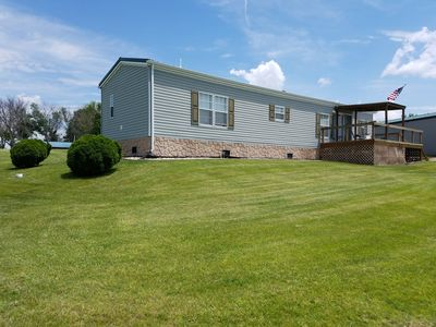 Rathbun Lake, Antler Acres Rental - 2 bedroom, 2 bath, sleeps 6